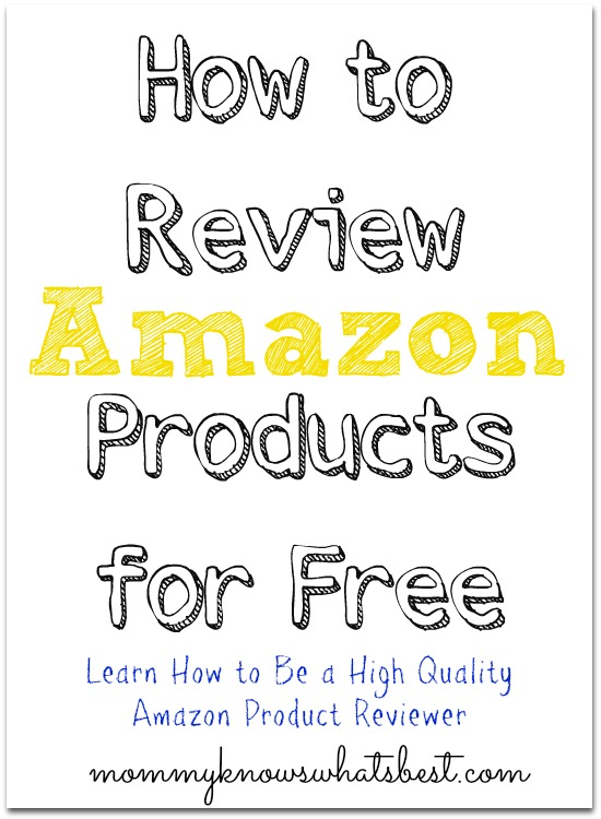 review amazon products for free