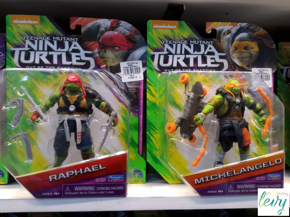 TMNT Out of the Shadows: Pirate Michelangelo and The Shredder Review