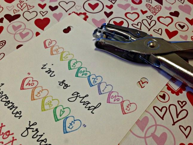 valentine closeup