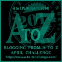I'm doing it again this year… A to Z Challenge