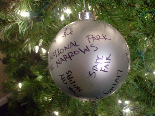 Medium Of Personalized Family Christmas Ornaments