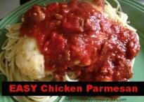 EASY** Chicken Parmesan #Recipe • Mommy's Memorandum
