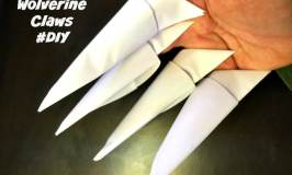 How to Make Wolverine Claws #DIY