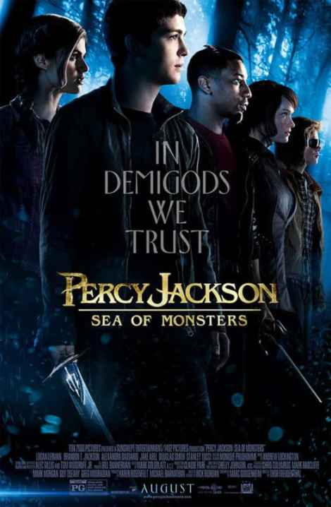 Percy Jackson movie poser