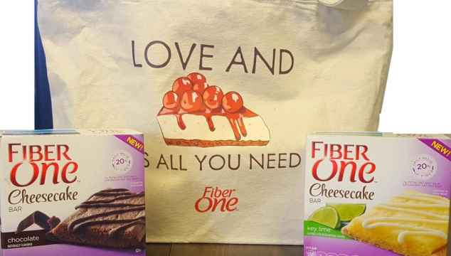 fiber one love and cheesecake is all you need