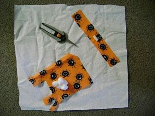 handmade rag doll materials