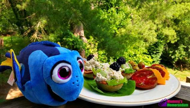 nature's harvest featuring dory plush