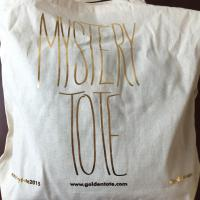 January 2015 Golden Tote Mystery Tote Review #goldentote #mysterytote2015