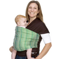 Benefits of babywearing with Moby Wraps and baby carriers