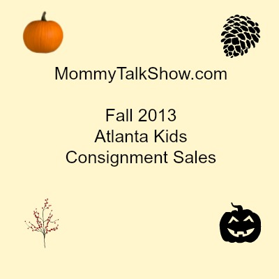 Fall 2013 Atlanta Kids Consignment Sales