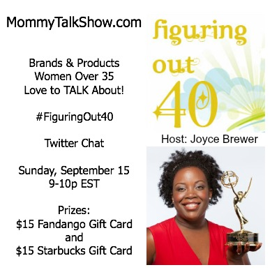 Brands & Products Women Over 35 Love to TALK About Twitter Chat 9/15 #FiguringOut40