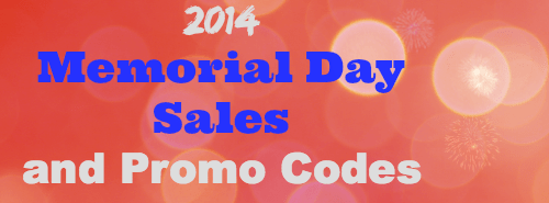 2014 Memorial Day Sales and Promo Codes