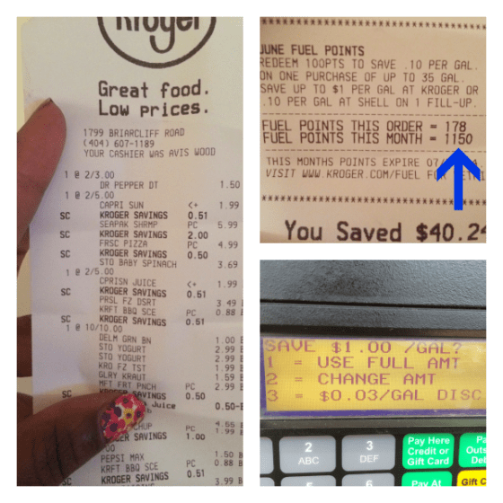 Shopping at Kroger Helped Me Pay Less Than $3 Per Gallon for Gas~ MommyTalkShow.com
