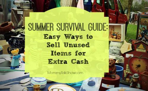 Summer survival guide easy ways to sell unused items for Easy to make and sell products