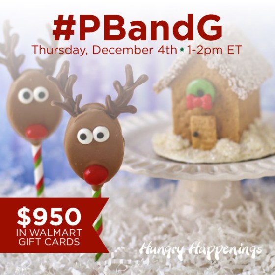 Join me for the #PBandG Twitter Party 12/4 from 1-2p EST