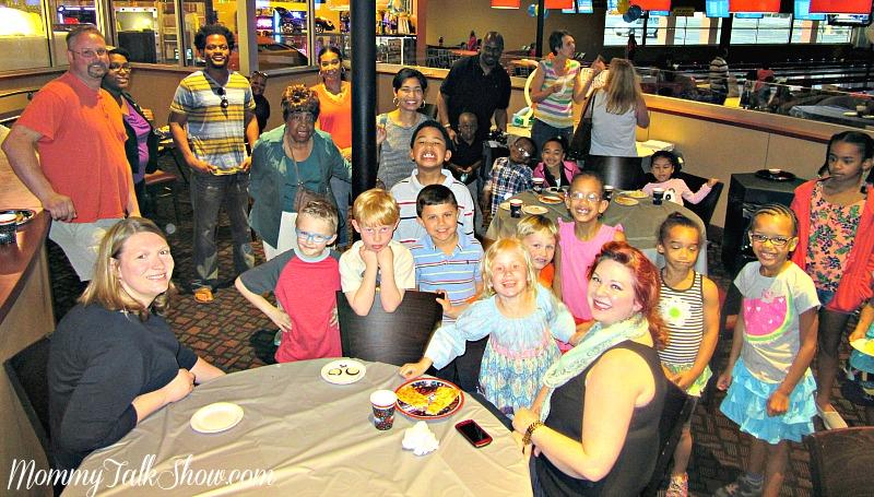 6th Birthday Group Photo