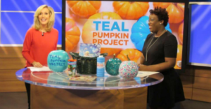 [VIDEO] Teal Pumpkin Project Makes Halloween Safe for Children with Food Allergies