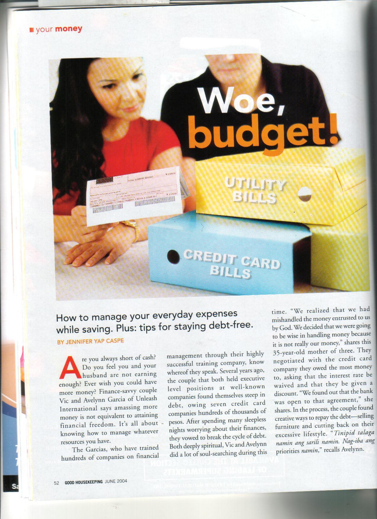 6-04 Woe, Budget 1