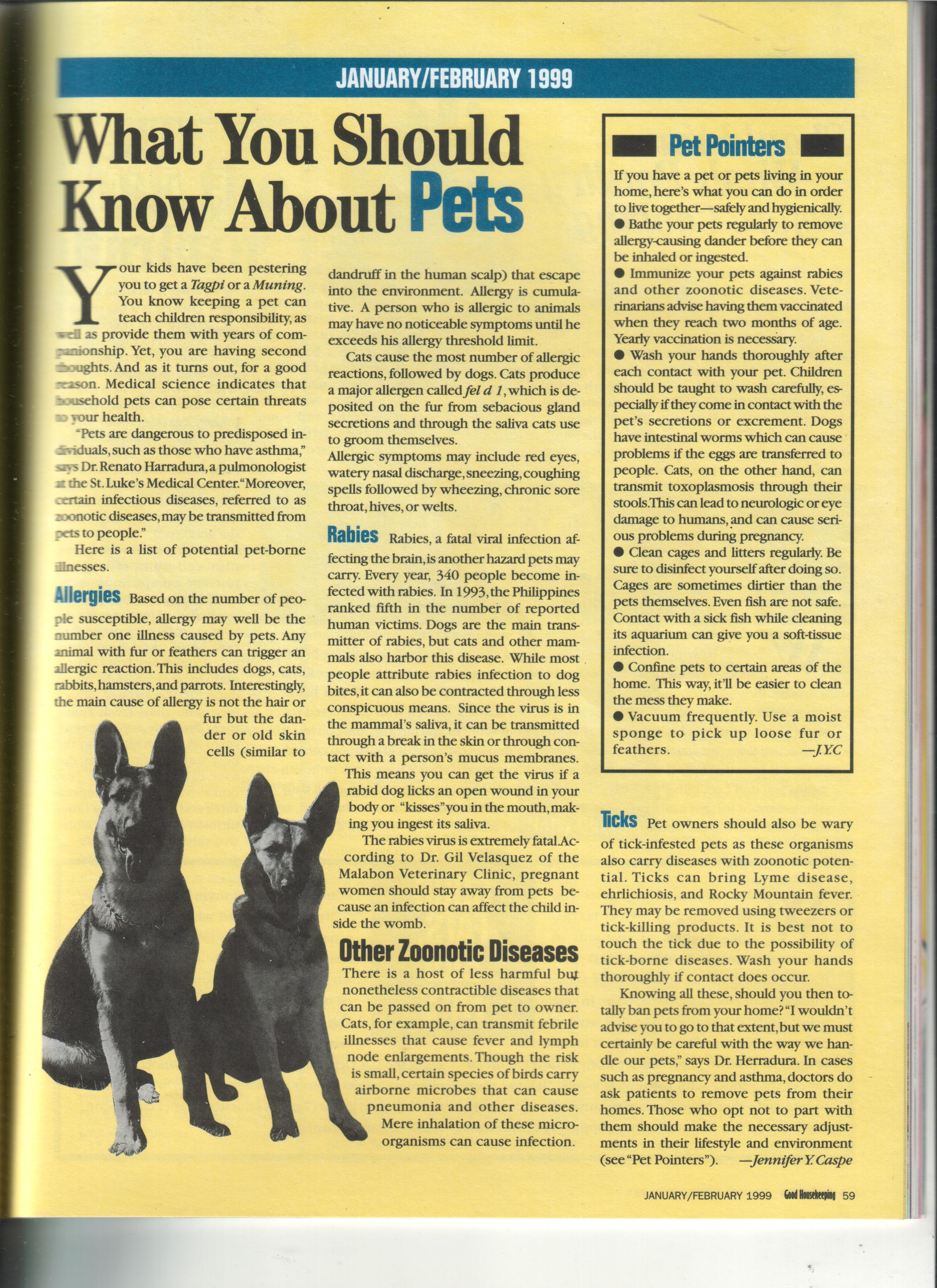 01-99 My FIRST GH ARTICLE