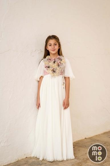 Vestidos de Comunion, Trajes de comunion Pilar del Toro, blog de moda infantil, Momolo