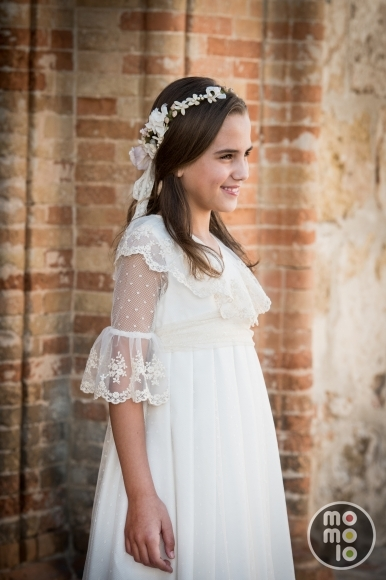 blogs de moda infantil, vestidos comunion, trajes comunion, momolo, Pilar del Toro, 1