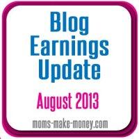 August Blog Earnings Revealed