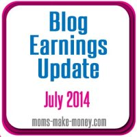 July blog earnings