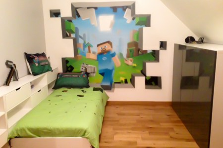 amazing minecraft bedroom decor ideas! | moms approved