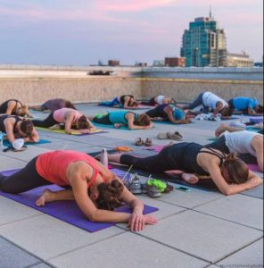 Twilight Yoga With Sante at The Chase Park Plaza + GIVEAWAY!