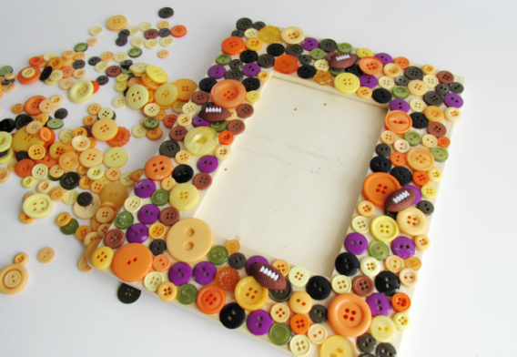 Button Frame Completed