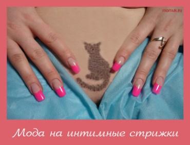 Женская интимная стрижка виды