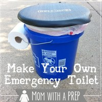 Mommy, I Have to Go Potty! Make Your Own Emergency Toilet