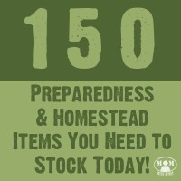150 Preparedness Items You Need to Stock