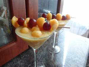 melon rock cocktail barman