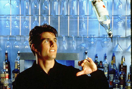 Tom Cruise flair bartending