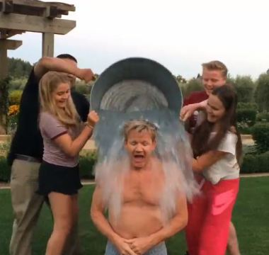 gordon ice bucket challenge