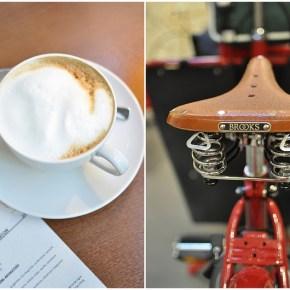 Dans la vie d'un hypster : le café -vélo