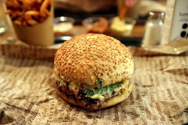 Hamburger haut de gamme