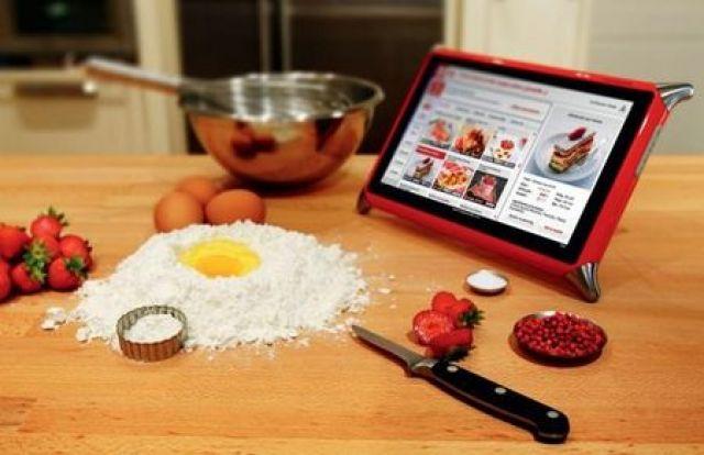 tablette pour cuisiner