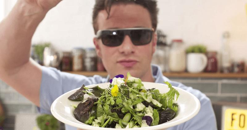 Jamie oliver cuisine avec google glass mon cuisinier - Fiche metier chef de cuisine ...