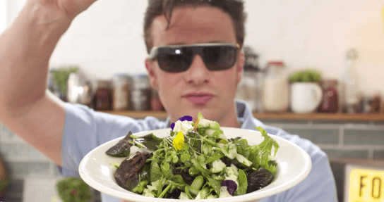 Jamie Oliver cuisine avec Google Glass
