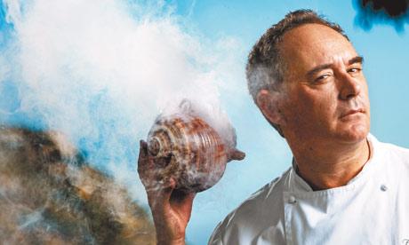 Ferran Adrià cuisine moléculaire
