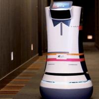 Le premier robot maître d'hôtel