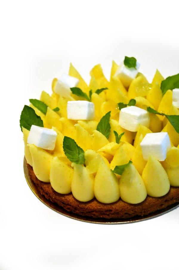 tarte citron sablé breton