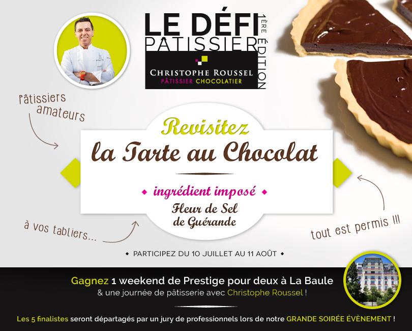 Le Défi Pâtissier par Christophe Roussel