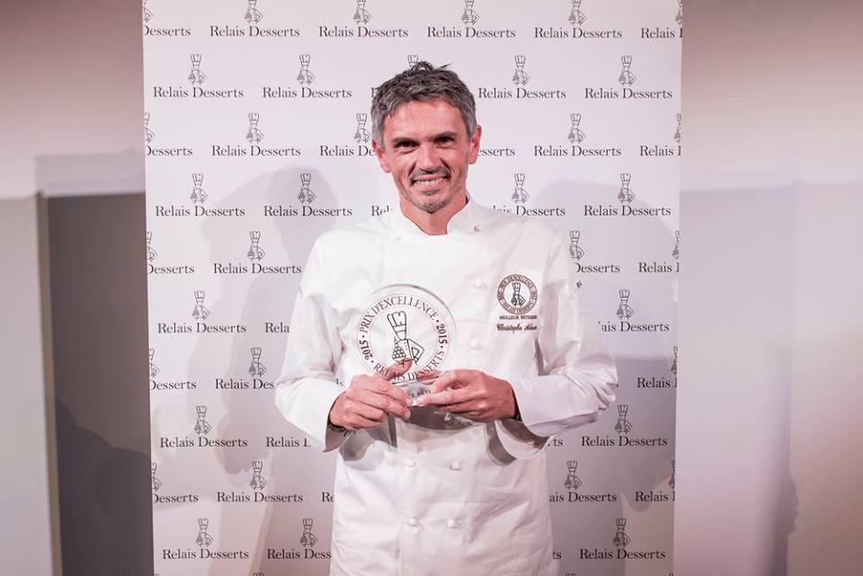 Christophe Adam, pâtissier de l'année