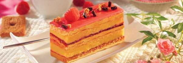 millefeuille fruit rouge