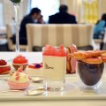 pink afternoon tea