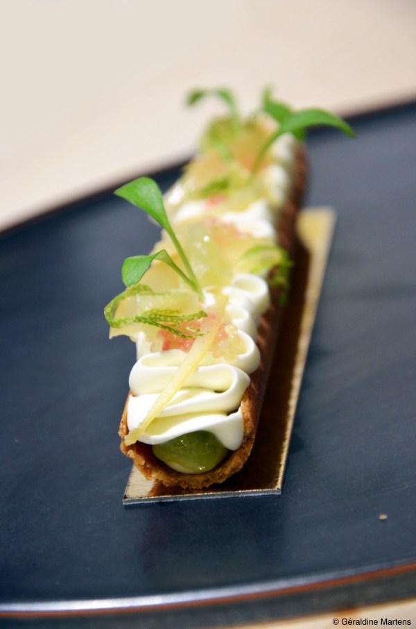 dessert citron caviar
