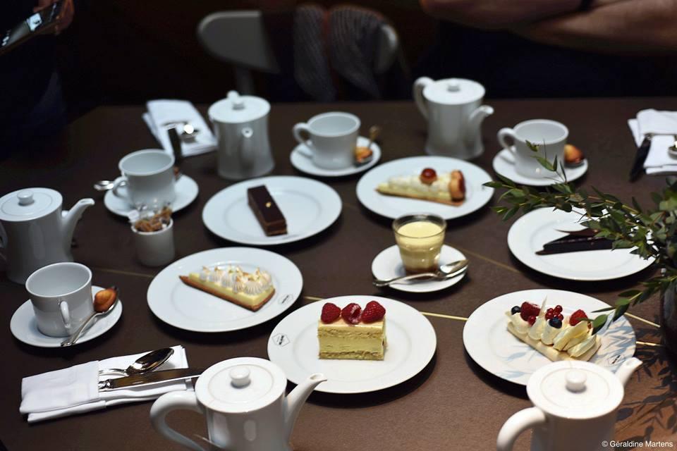 Les desserts signés Yann Brys à la Brasserie Réjane de l'Hôtel Nolinski